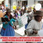 DIRESA Apurímac entrega donativos para hogar de ancianos de Abancay