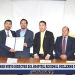 Designan nuevo director del Hospital Regional Guillermo Díaz de La Vega