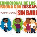 O3 de diciembre, Día Internacional de las Personas con Discapacidad