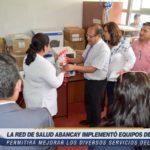 Red de Salud de Abancay implementó equipos para la mejora del sector